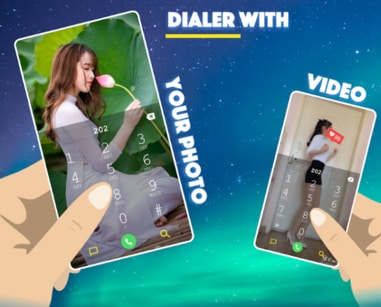 My Photo Phone dialer APK For Android
