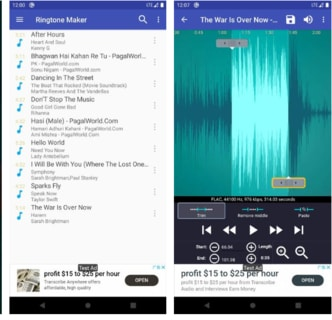 Ringtone Maker - Create Free Ringtones From Music Apk Download